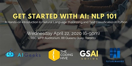 Get Started With AI: NLP 101 tickets