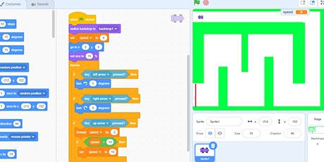 April School Holidays: Making games with Scratch tickets