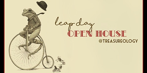 Leap Day Open House & Pour Painting Party!