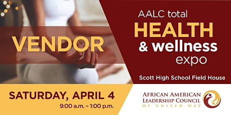CANCELLED - AALC Total Health and Wellness Expo – VENDOR tickets