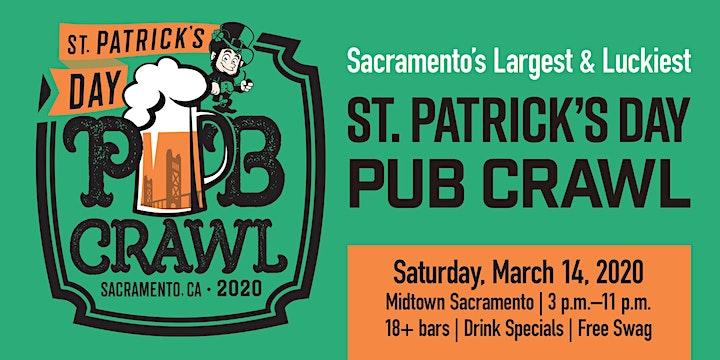 St. Paddy's Day Pub Crawl 2020 image