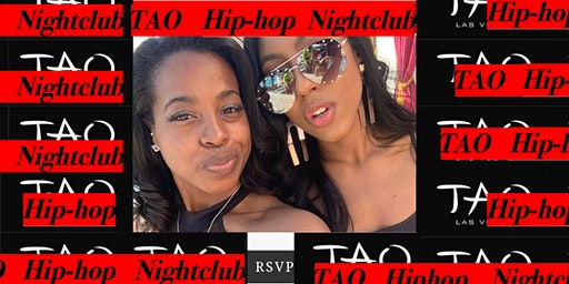 #1Talked About Event: Jasmines List:  Free Open Bar @TAO HIP hop  Nightclub