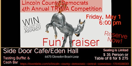 Lincoln County Democrats 4th Annual Trivia Competition tickets