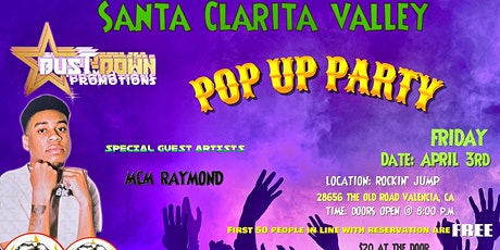 BUST-DOWN PROMOTIONS POP UP EVENT tickets