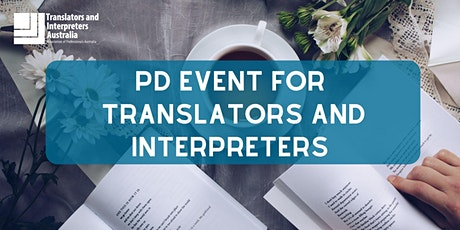 PD event for translators and interpreters tickets