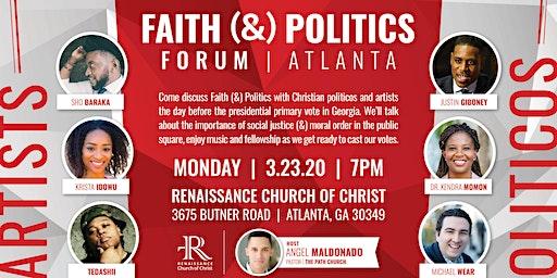 Faith and Politics Forum