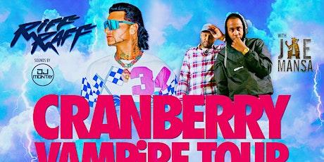 "Jae Mansa ""Cranberry Vampire Tour"" - March 14th (Meet N Greet) tickets"