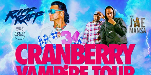 "Jae Mansa ""Cranberry Vampire Tour"" - March 14th (Meet N Greet)"