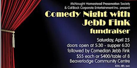 Comedy Night Fundraiser tickets