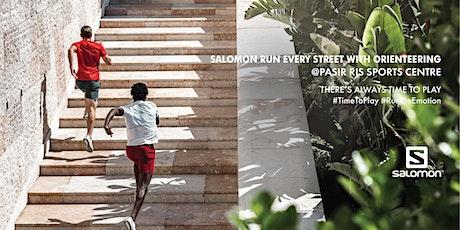 Salomon #Runeverystreet with Orienteering (Training) tickets