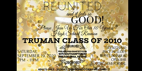 Truman High School 10 year reunion class of 2010 tickets