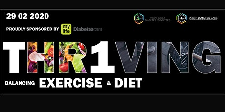 THRIVING: Balancing Diet & Exercise with T1D tickets