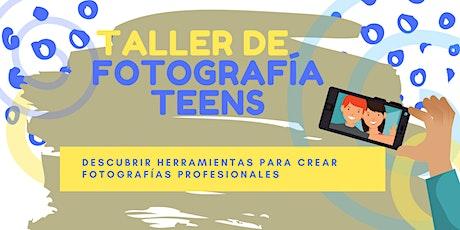 TALLER DE FOTOGRAFÍA PARA ADOLESCENTES tickets
