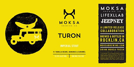 LIFEXLLAB + Moksa Brewing Turon for Jeepney NYC Beer Release Kamayan Dinner tickets