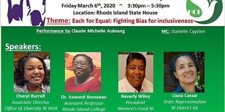 International Women's Day 2020 - Fighting Bias for inclusiveness tickets