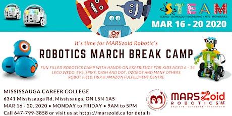 STEM Robotics March Break Camp (Ages 6 - 14) tickets