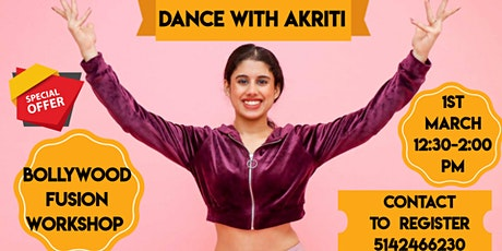 Bollywood Dance Workshop By- Dance With Akriti tickets