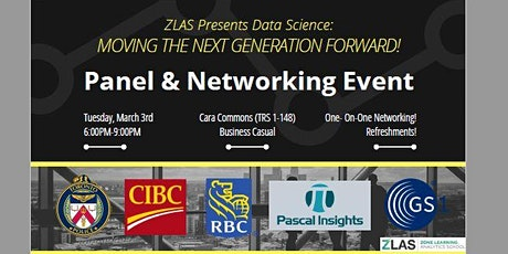 ZLAS PANEL & NETWORKING: Data Science- Moving The Next Generation Forward! tickets