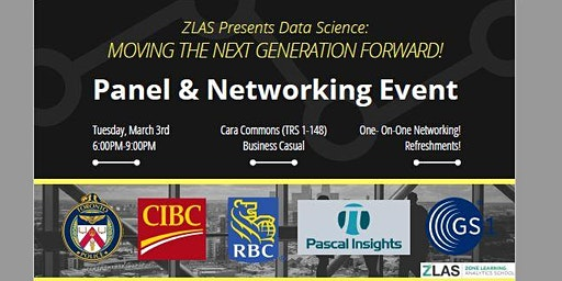 ZLAS PANEL & NETWORKING: Data Science- Moving The Next Generation Forward!