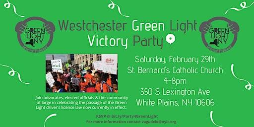 Westchester GreenLight Victory Party/ Celebración de la Victoria