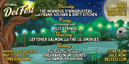 DelFest 2020 Late Night Shows
