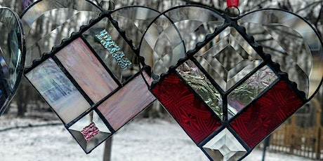 Stained Glass Art Overview & Sparkling Heart Project tickets