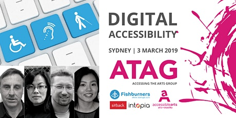 Digital Accessibility | ATAG Sydney 3 March tickets
