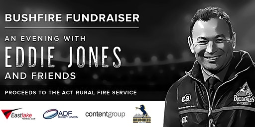 An evening with Eddie Jones and friends