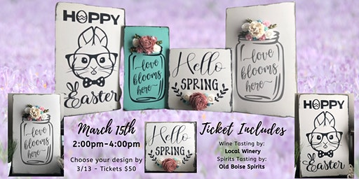Spring Sign Making Workshop with Tami Robbins Reed