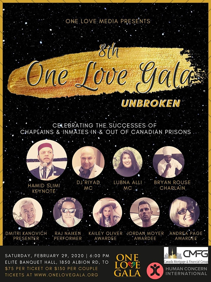 The 8th Annual One Love Gala and Awards: Unbroken image