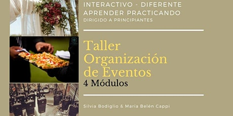 Taller de Organización de Eventos / 2° Módulo / 16 Mayo 2020 / Vistandes entradas