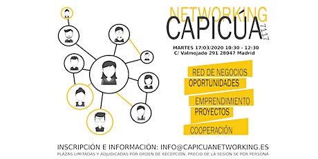 Sesión de Networking en Madrid entradas