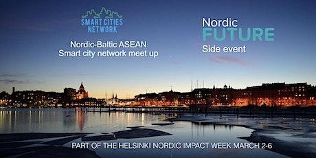 Nordic-Baltic ASEAN Smart City Network meetup tickets