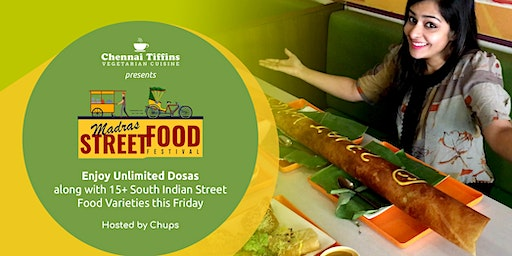 Unlimited Dosa's and South Indian Restaurant, Madras Street Food Festival