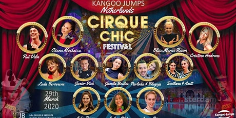 Cirque Chic Kangoo Jumps Festival Netherlands tickets