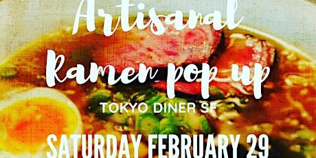 Artisanal Ramen at Tokyo Diner SF tickets