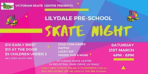 Lilydale Pre-School Skate Night