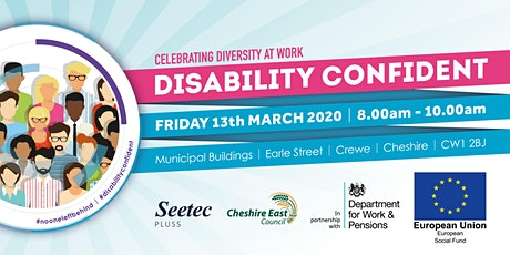 'Disability Confident' Celebrating diversity at work tickets