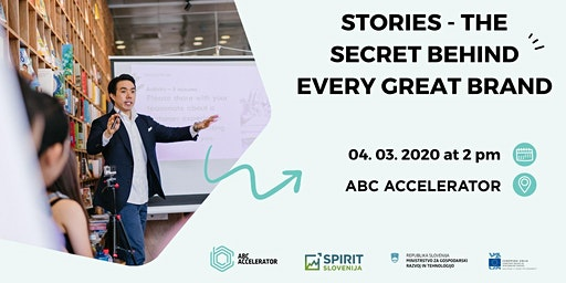 Stories – the secret behind every great brand
