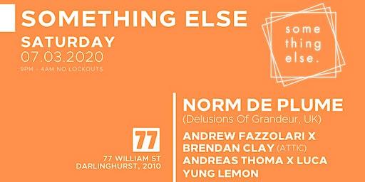 Southing Else - Norm De Plume (Delusions Of Grandeur, UK)
