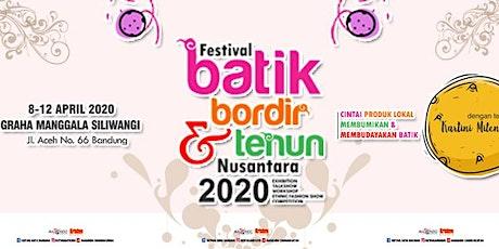 Festival Batik Bordir Tenun & Scarf 2020 tickets