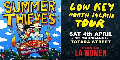 Summer Thieves  &  L.A WOMEN  // Totara Street  - Low Key North Island Tour tickets