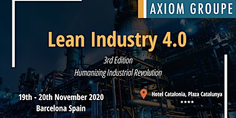 LEAN INDUSTRY 4.0 2020 tickets