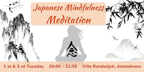 Japanese Mindfulness Meditation tickets