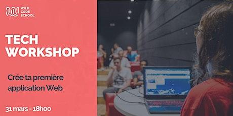 Tech Workshop - Crée ta première application Web tickets