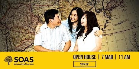 SOAS University of London Open House tickets