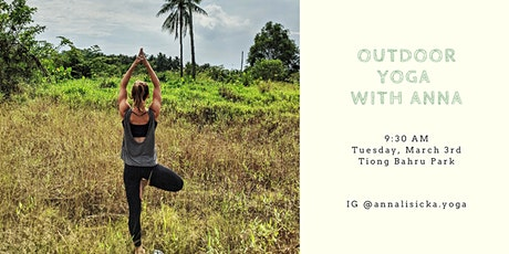 Outdoor Yoga with Anna @ Tiong Bahru Park tickets