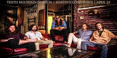 Tenth Mountain Division Live at Martin's Downtown tickets