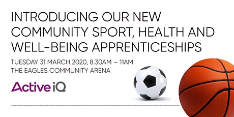 Community Sport, Health and Well-being Apprenticeships tickets