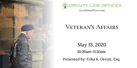 Veteran's Affairs Seminar tickets